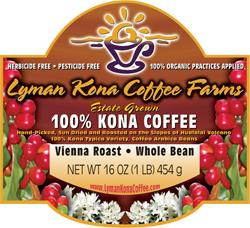 KCFA Member Lyman Kona Coffee Farms (Organic Estate)